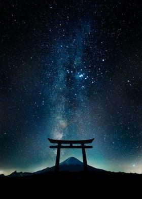 Night Torii Gate