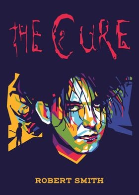 THE CURE ROBERT SMITH WPAP