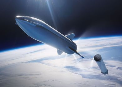 BFR Entering Space