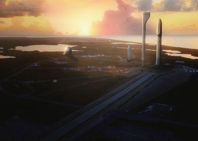 BFR At Cape Canaveral