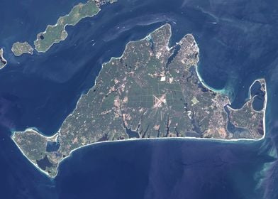 Marthas Vineyard Map