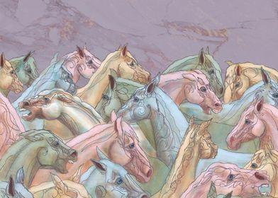 Herd Of Mares