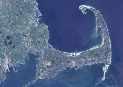 Cape Code Satellite Map