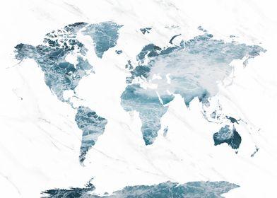 World Map Ocean 2