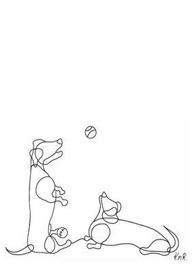 Original Dachund Doodle