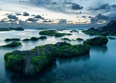 The blue paradise