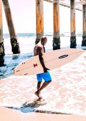 Surfing Man I