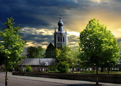 Church Aarschot Belgium