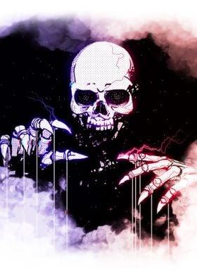 Skull Glow in the Dark