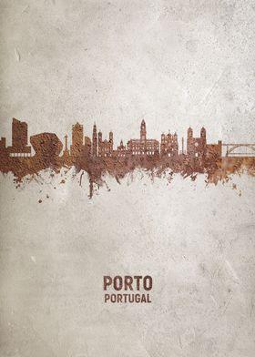 Porto Portugal Skyline