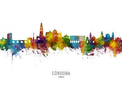 Cordoba Spain Skyline