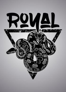 Ball Python Royal Print