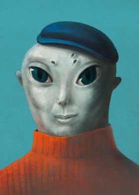 Alien visitor 3