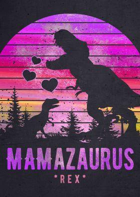 Mamasaurus Mother Mom Mum