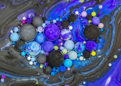 Bubbles Art Gaia