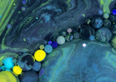 Bubbles Art Lillian