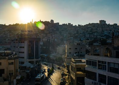 Sunset over Nazareth