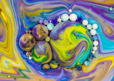 Bubbles Art Zeus