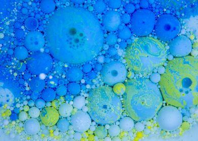 Bubbles Art Grapes