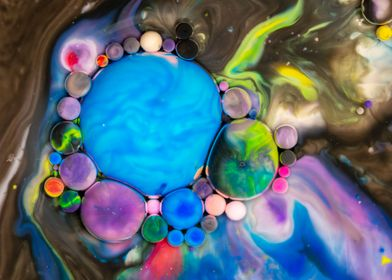 Bubbles Chocolate River