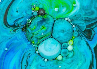 Bubbles Art Hestia