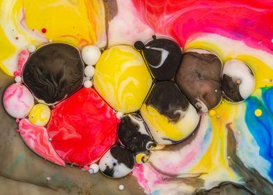 Bubbles Art Caroline