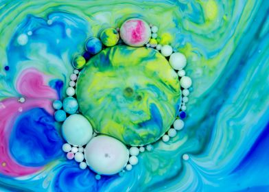Bubbles Art Gazer