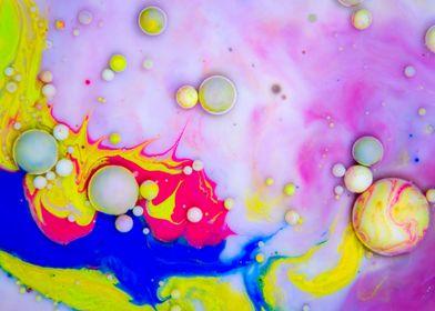 Bubbles Art Mango