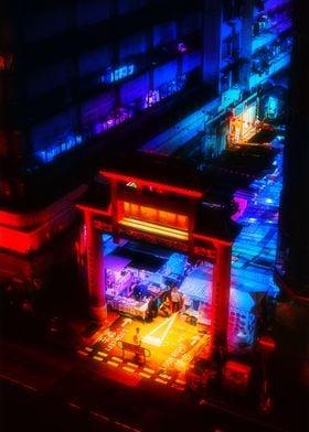 Hong Kong Blue Market