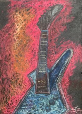 Rock This Metallica Guitar