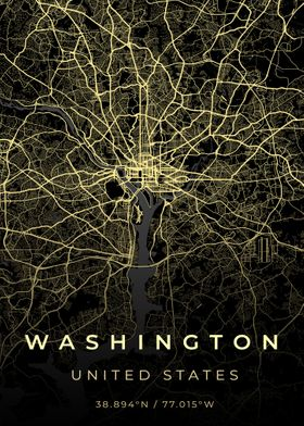 Washington City Map