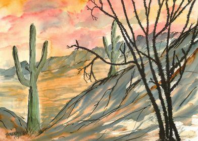 Southwestern Landscape Art