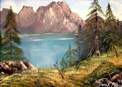 European Mountains Art