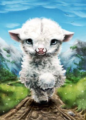 Snowflake Goat