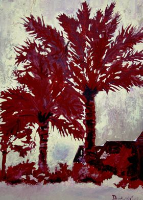 Palm Trees Modern Art