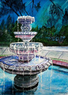 Water Fountain Urban Art
