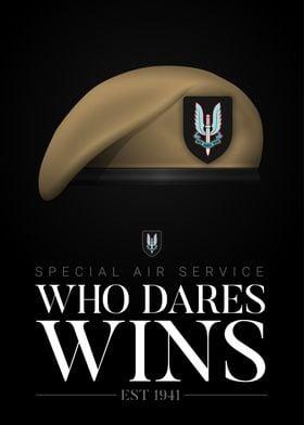 British SAS Who Dares Wins