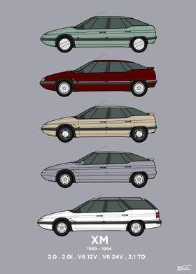 Citroen XM S1 Collection