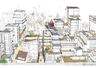 Dense Utopian City PTA