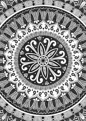 Divine Flower Mandala