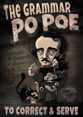 Edgar Poe Grammar Police