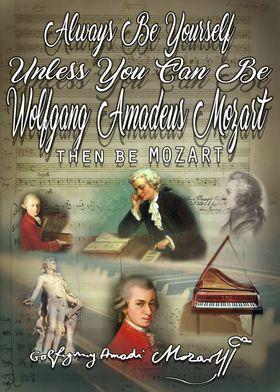 Be Wolfgang Amadeus Mozart