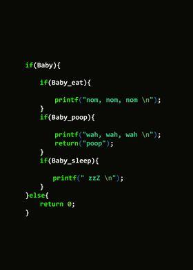 Your Baby  Code  in C