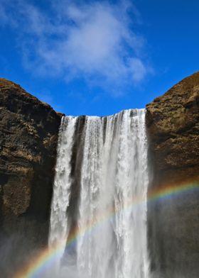 Rainbow loves Waterfall