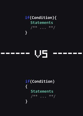 VS Ifs