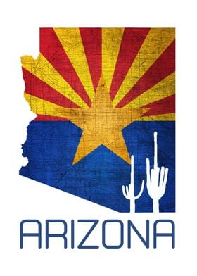 Arizona Silhouette Faded