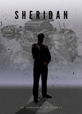 Sheridan from Babylon 5