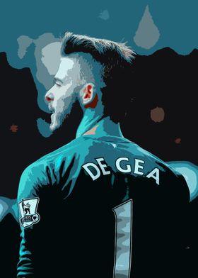 David De Gea Painting