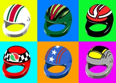 Pop Art Helmets 2
