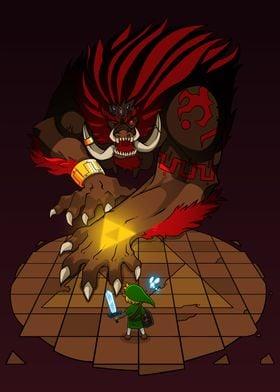 Zelda Ganon Nintendo